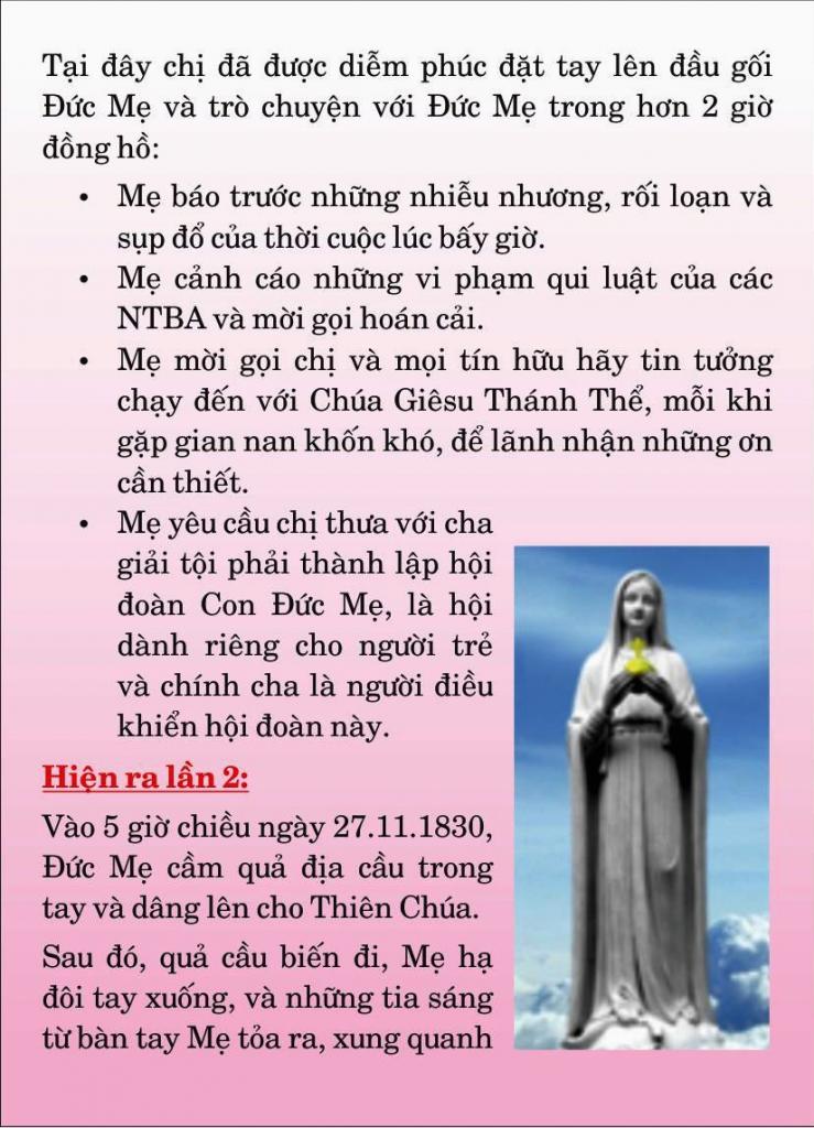 Thánh nữ Catherine Labouré5